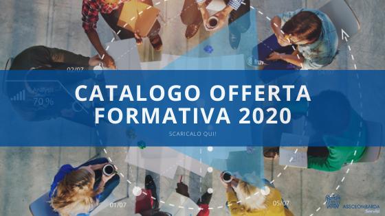 Corsi di formazione 2020: pronti per il nuovo catalogo?