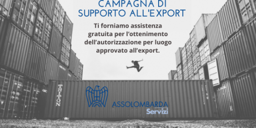 Solidali per la ripartenza dell'Export: la campagna gratuita di Assolombarda Servizi